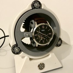 3D printing designs Watch Winder / Remontoir Montre, NedalLive