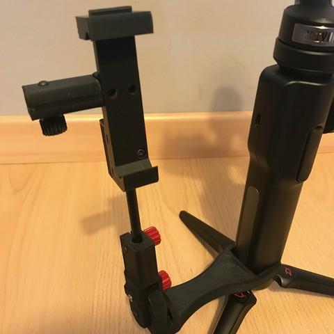 IMG_0984.jpg Download STL file steadicam Smartphone Mount • 3D printer template, NedalLive