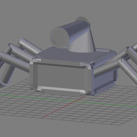 Free 3d model Spider Box, dbsys