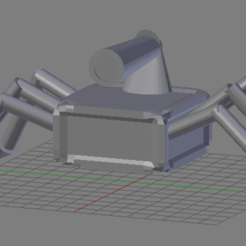 Free 3D model Spider Box, dbsys
