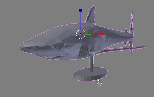 tiburon3d.png Download free STL file White Shark for Desktop • 3D printer template, dbsys
