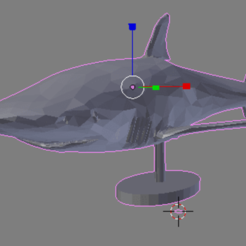 Descargar diseños 3D gratis White Shark for Desktop, dbsys