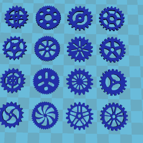 gears 1.png Download STL file GEars for SteamPunk • 3D printing object, xpholx