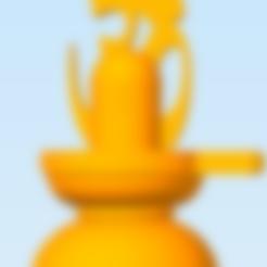 Shiva Lingam_Om.stl Download STL file Hindu God Shiva Linga • 3D print model, Swift