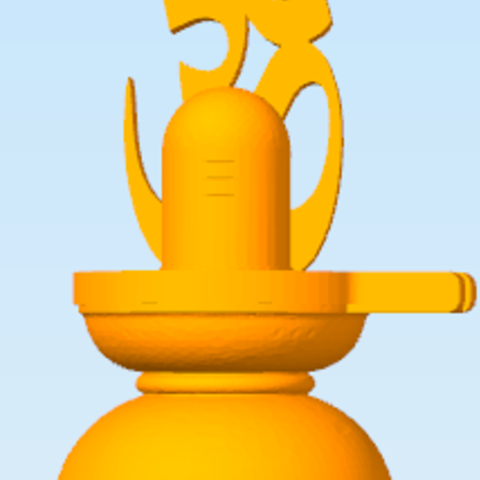 Shiva Lingam.png Download STL file Hindu God Shiva Linga • 3D print model, Swift