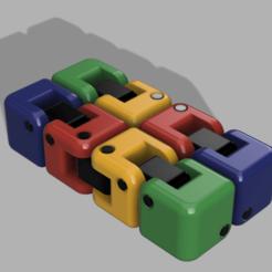 Kobayashi_Fidget_Cube.png Télécharger fichier STL gratuit Kobayashi Fidget Cube - Buse 0,6 • Plan à imprimer en 3D, hirez