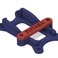 Futaba_R_Holder.png Download free STL file Futaba R7008SB receiver Holder • 3D printable design, hirez
