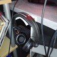 Download free STL Headphone hook, MathieuGuillard