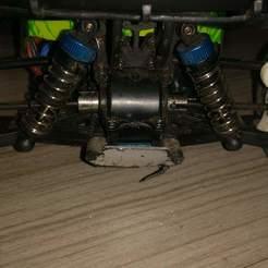 modelos 3d Wltoys A959B buje de rueda trasera reforzado, Tiago5