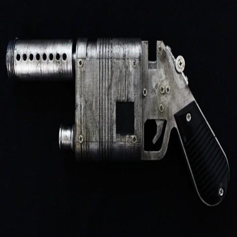 3D printing Star Wars - NL-44 - Reys Blaster ・ Cults