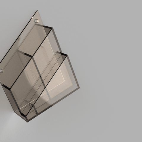porte_telecommande v2.png Download free STL file wall mounted remote control • 3D printable template, MME