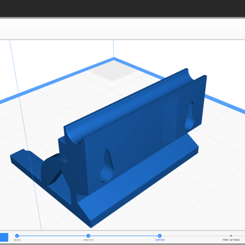 zero_support_1.png Download free STL file AEG BATTERY DOOR • 3D printer object, MME