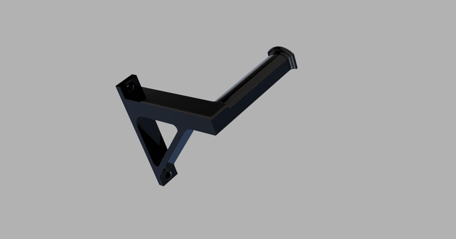 portebobine v4.png Download free STL file wall spool holder • 3D printer template, MME