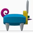 Free stl files Bunny-Pig-Turtle Mashup Mascot, AFT