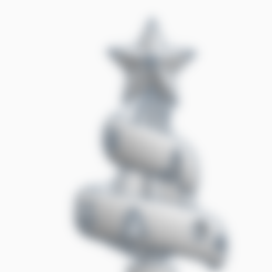 Christmas Tree by AFT.stl Download STL file Christmas Tree Ornament by AFT • Model to 3D print, AFT
