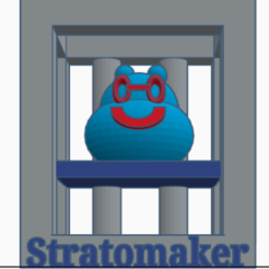 Download free 3D print files #STRATOMAKER Gumpy and 3d Printer, AFT