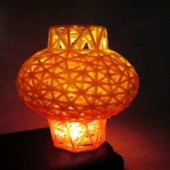 Download free STL files Chinese Lantern, LGBU