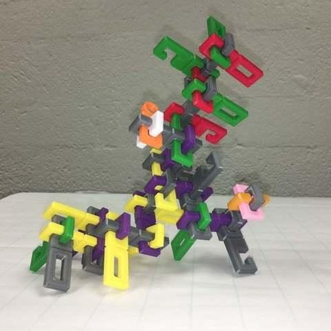 Download free 3D printer designs Tree of Knots, Knotty Fractal, Carpenter's Lock, LGBU