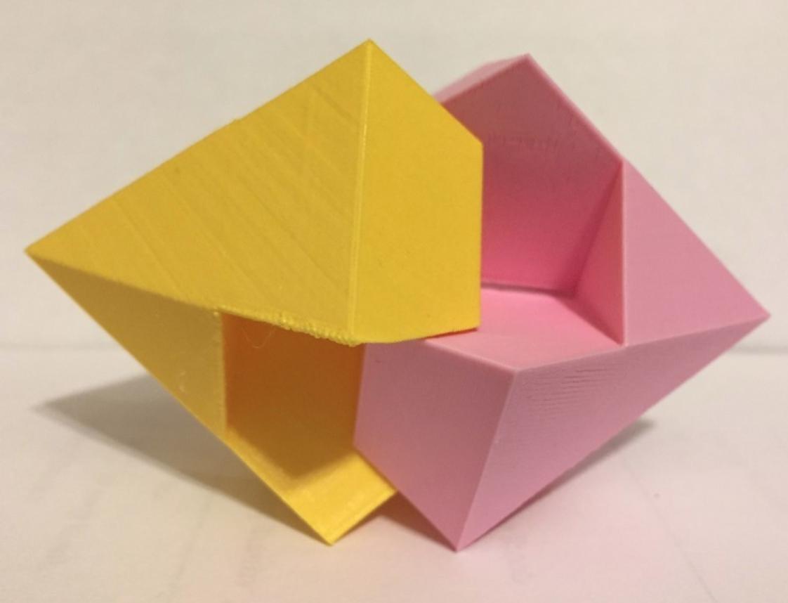 Capture d'écran 2018-01-22 à 12.08.39.png Download free STL file Diamond, Dodecahedron, Kawai Joint • Design to 3D print, LGBU