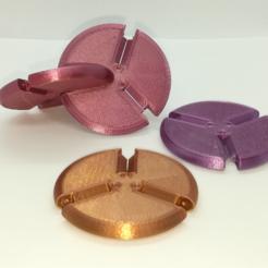 Descargar archivo 3D gratis Círculos de presión, modelo base Oloid, LGBU