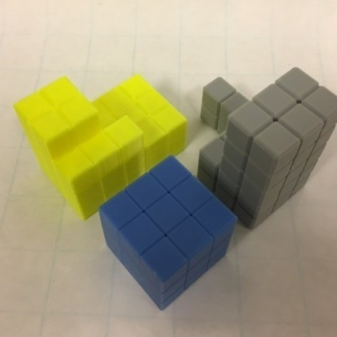d7cc510be0080ab2eeea63a13d681f49_preview_featured-1.jpg Download free STL file Cube Dissection Puzzle/ Model for 3^3 + 4^3 +5^3 = 6^3 • 3D printer design, LGBU