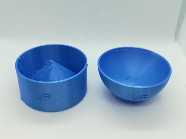 p0.png Download free STL file Volume of a Sphere, Cavalieri's Principle, Cups • 3D printable design, LGBU