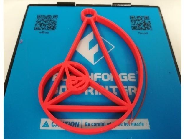 dbee0ed917b6d246c1d24280bbc17880_preview_featured.jpg Download free STL file Logarithmic Spiral, Golden Triangle, Golden Gnomon, Spira Mirabilis • 3D print object, LGBU
