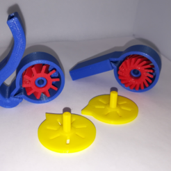 Download free 3D print files Whistles with a Turbine, STEM Play, LGBU
