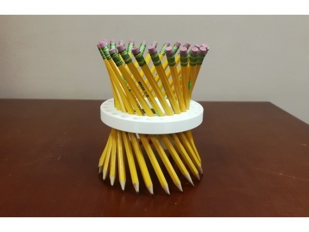 f2cb06647ac2931cfdb146452bc0c300_preview_featured.jpg Download free STL file Math Teachers' Pencil/Straw Holder/ Stand, Hyperboloid, Ruled Surface • 3D printing template, LGBU