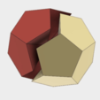 Free 3d model Half Dodecahedron, Make Your Own, LGBU