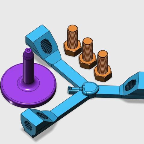 Capture d'écran 2017-12-26 à 14.41.13.png Download free STL file Model for Balancing Bird • 3D print model, LGBU