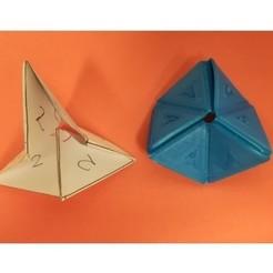Free stl file Hexaflexagon for Flexible TPU Filament, LGBU
