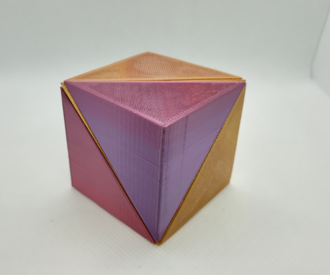 p0.PNG Download free STL file Tetrahedral Dissection of the Cube, Cube Puzzle • 3D printing design, LGBU