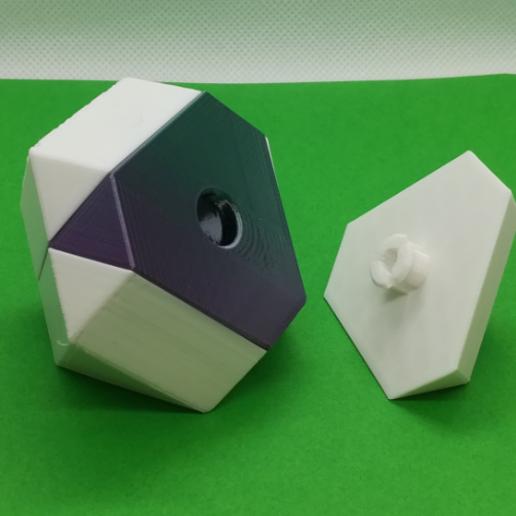 p5.PNG Download free STL file Cuboctahedron Puzzle, Cube Puzzle • 3D printable design, LGBU