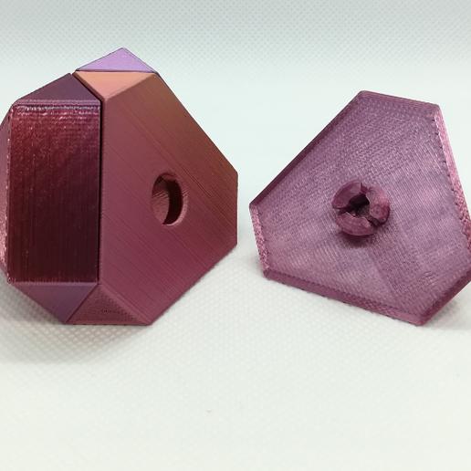 p1.PNG Download free STL file Cuboctahedron Puzzle, Cube Puzzle • 3D printable design, LGBU