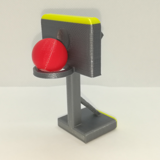 p1.PNG Download free STL file Basketball Hoop Stand, All in One • 3D print object, LGBU