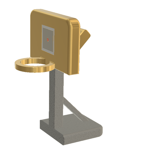 d1.PNG Download free STL file Basketball Hoop Stand, All in One • 3D print object, LGBU
