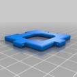 Download free 3D model Cube Nets / Templates / Squares, LGBU