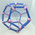 Download free 3D printer designs Dodecahedron, Pedagogically Stretched, LGBU