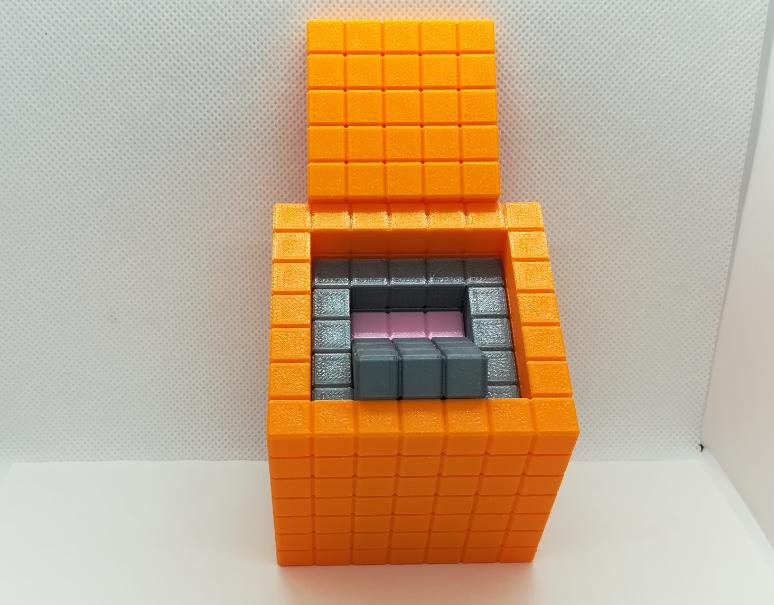 p3.PNG Download free STL file Nesting Cubes, Recursive Cubes, Cubes within Cubes • 3D printer template, LGBU