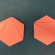 Free STL Triangle to Hexagon Dissections, Math, LGBU