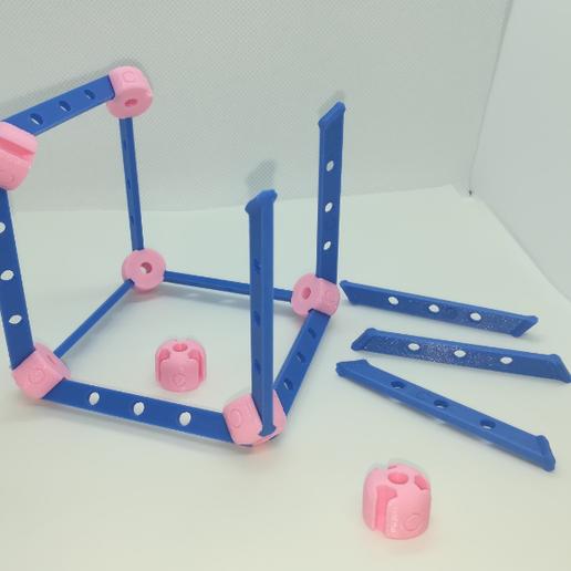p2.PNG Download free STL file Cube Model, Pedagogically Stretched • 3D printing design, LGBU