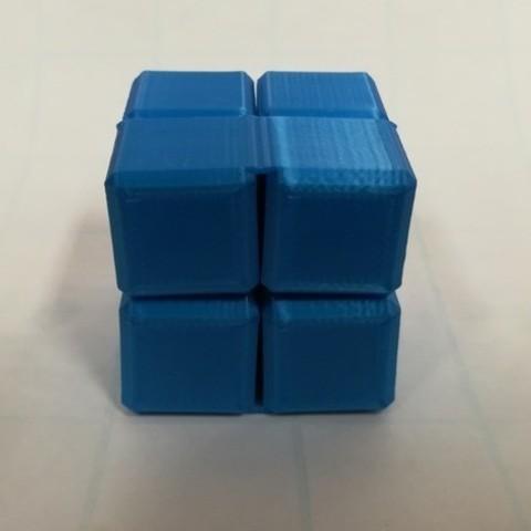 d7cc510be0080ab2eeea63a13d681f49_preview_featured.jpg Download free STL file Infinity Cube, Magic Cube, Flexible Cube, Folding Cube for Flexible TPU filament • 3D printing template, LGBU