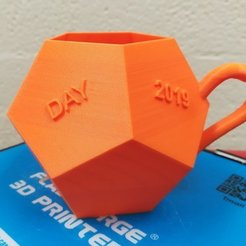 Download free STL file Dodecahedral Cups, LGBU