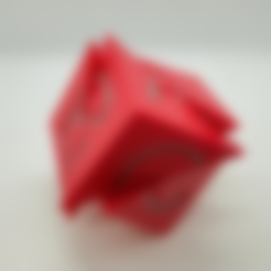 Cube5AiO.stl Download free STL file Tetrahedral Dissection of the Cube, Cube Puzzle • 3D printing design, LGBU
