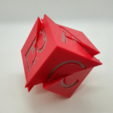 p5.PNG Download free STL file Tetrahedral Dissection of the Cube, Cube Puzzle • 3D printing design, LGBU