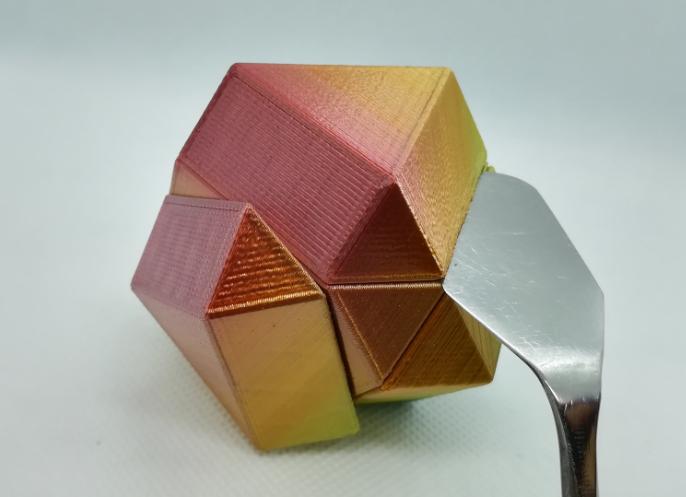 p2.PNG Download free STL file Cuboctahedron Puzzle, Cube Puzzle • 3D printable design, LGBU