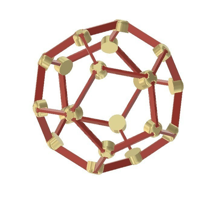dbee0ed917b6d246c1d24280bbc17880_display_large.jpg Download free STL file Make Your Own Platonic Dodecahedron • 3D printer template, LGBU