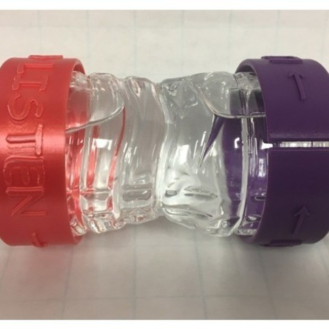 d7cc510be0080ab2eeea63a13d681f49_preview_featured.jpg Download free STL file Wrist Band for Teachers & Students • 3D printable design, LGBU