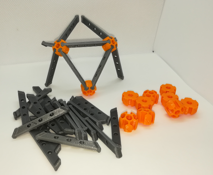 p1.PNG Download free STL file Icosahedron Model, Pedagogically Stretched • Object to 3D print, LGBU